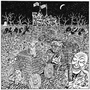 BLACK PUS OOZING WOUND SPLIT LP