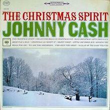 CASH, JOHNNY  CHRISTMAS SPIRIT