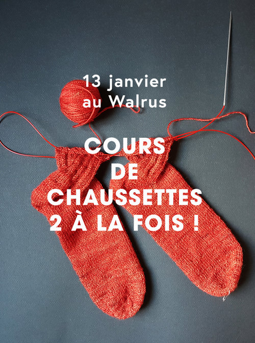 cours chaussettes