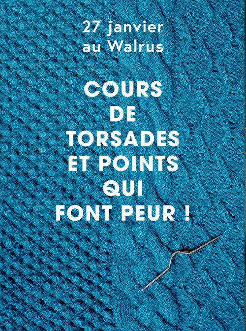 cours+torsades