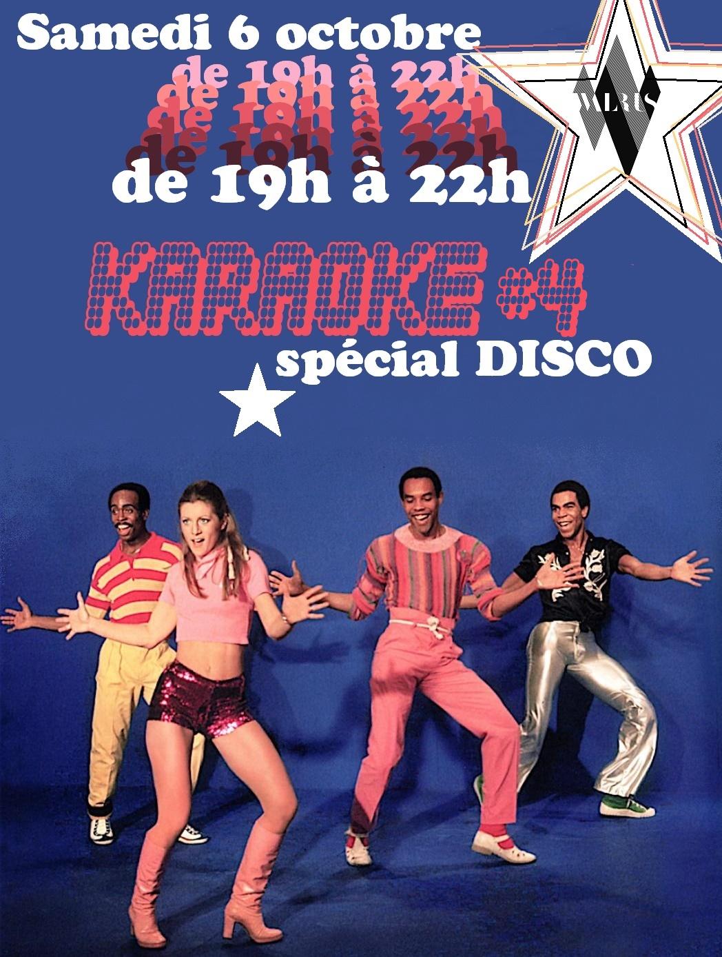 Karaoké #4 spécial Disco