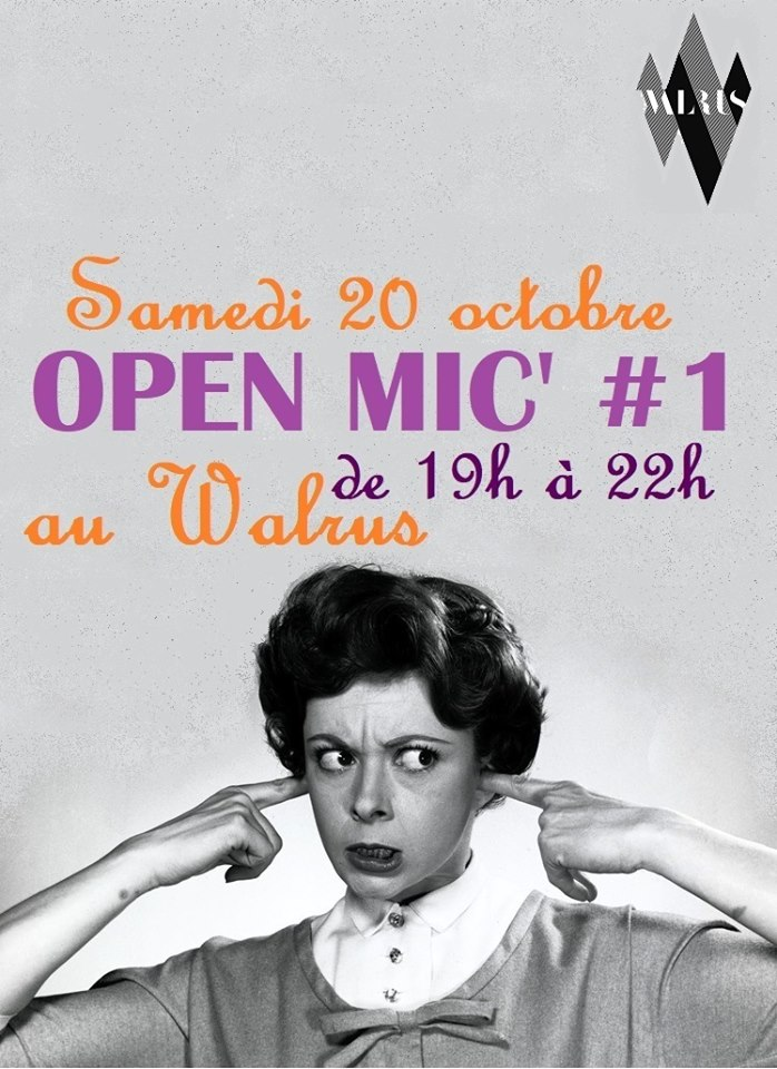 Open Mic / scène ouverte / Jam session au Walrus