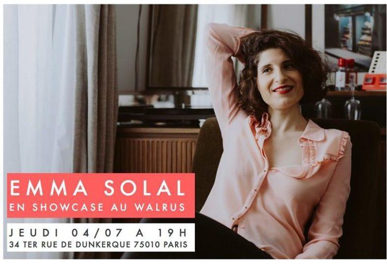 EMMA SOLAL en showcase