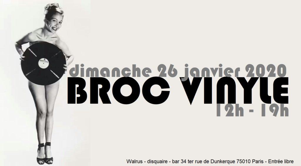 BROC VINYLE