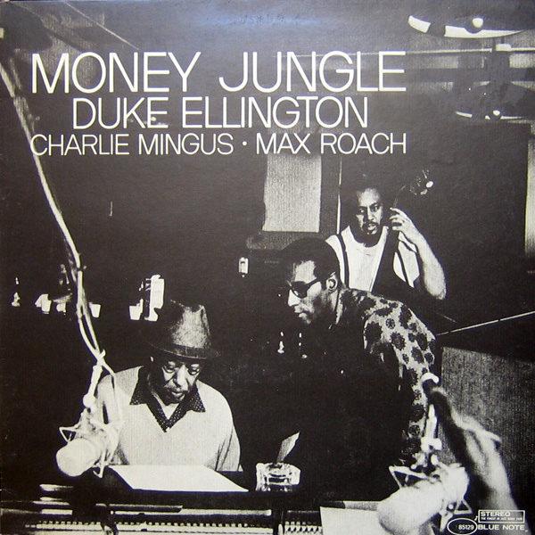 DUKE ELLINGTON MINGUS ROACH MONEY JUNGLE ( BLUE VINYL)