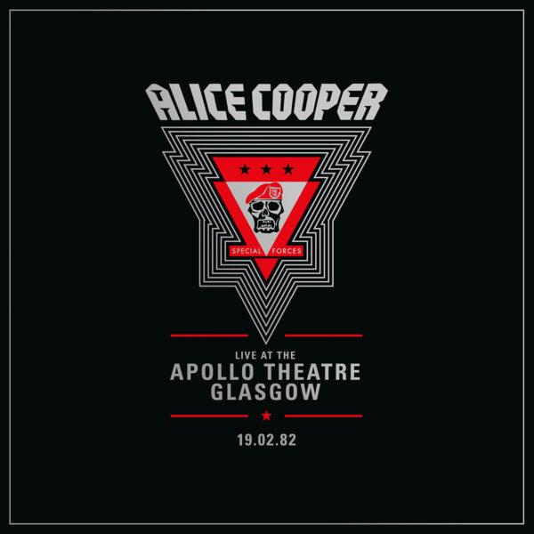 ALICE COOPER LIVE FROM THE APPOLO THEATRE GLASGOW 1982 RSD 2020